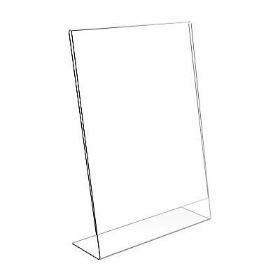 1/5 PACK Acrylic Poster Menu Holder Perspex Leaflet Display Stands A4 A5 A6