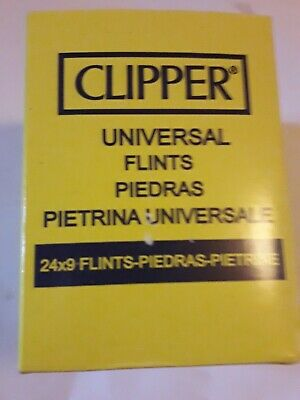 Clipper Lighter Flints ×27 Universal Flint For All Types Lighters Cigarette NEW.