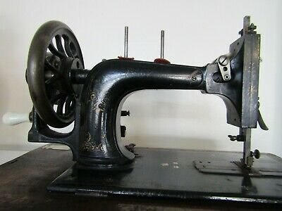 Frister & Rossman Vintage Sewing Machine With Mother Of Pearl Inlay