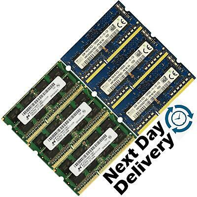 4GB 8GB 16GB Laptop  Memory Ram DDR3 1600 PC3-12800S 204PIN soDIMM UK Lot