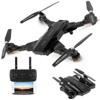 Drone radiocomandato 4 eliche telecamera video foto HD WIFI led app TK117-1