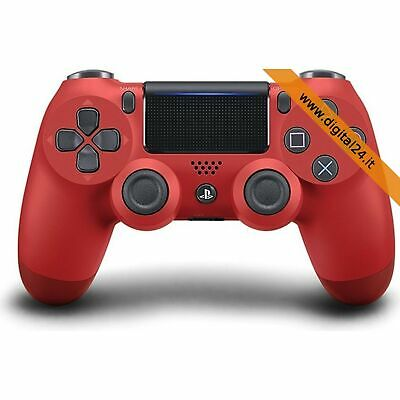 Controller Joypad Dualshock 4 Wireless Magma Red v2 (DS4) Rosso - PlayStation 4