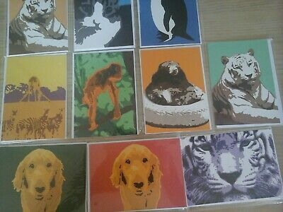 60 New Animal Cards, Wholesale Joblot Greeting Cards.