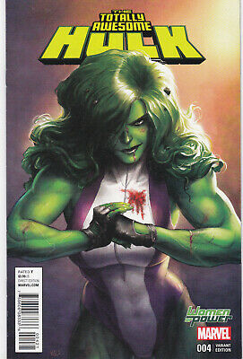 Totally Awesome Hulk 4 - Variant Cover (Modern Age 2016) - 9.0