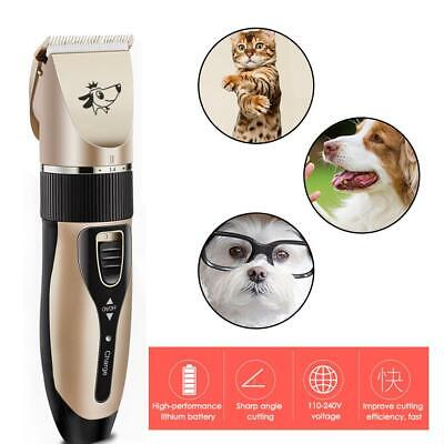Pet Clipper Dog Grooming Kit Shaver for Large/Small Dogs Cats  Trimmer Quiet