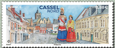 France 2019 Cassel Nord MNH / Neuf**