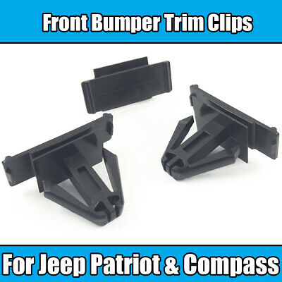 10 Front Bumper Moulding Clips For Jeep 6508947-AA Patriot Clipsandfasteners Inc