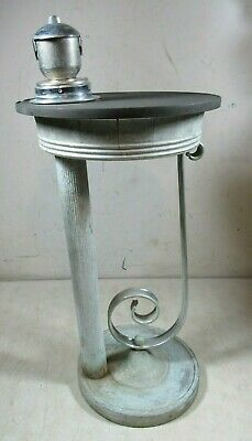 Vintage/Antique Cigar Ashtray Stand Table Unusual Rare HTF Art Deco