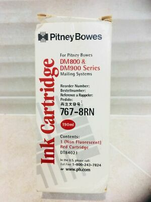 767-8Rn Pitney Bowes New Genuine Original Ink Cartridge Dm800 Dm900