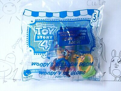 McDonalds Happy Meal Toy Story 4 #5 Woody's Balloon Boom Sealed Tickets