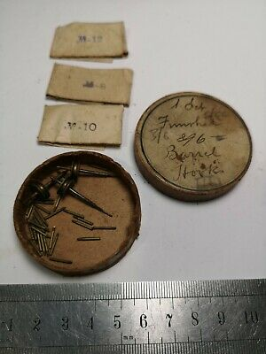 Vintage Clock Parts - Useful Vintage Parts Pins and Parts For Clockmakers (C17)
