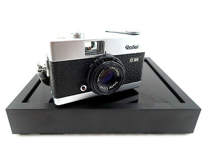Rollei C35 with Carl Zeiss Triotar 40mm/3.5 Rare-Selten Made in Germany
