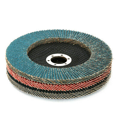"""6 Inch Sanding Flap Disc Grinding Wheel for Metal Rust Removal 80 Grit 7/8"""" Bore"""