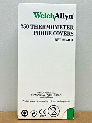 Welch Allyn Thermometer Probe Covers REF #05031 (250 Ct.)