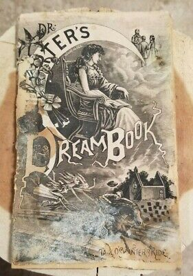 1800s Dr. Harter's Dream Book; Quack Medicine Promotional Advertising