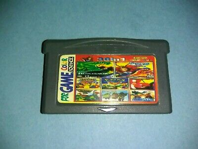 Cartucho Multijuego Gameboy Advance Con Juegos Clasicos  36In 1 Gba Gbc Game Boy