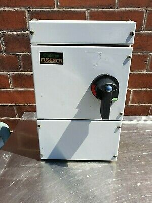 Crabtree Fusestar  Fuse Switch Disconnector Isolator 63 Amp TP+N