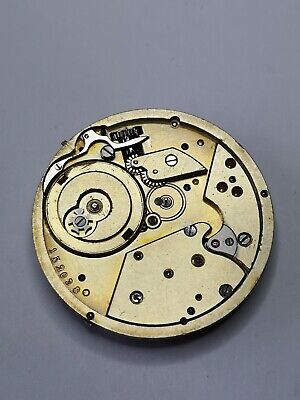 High Grade Vintage Pocket Watch Movement - Wolfs Teeth Wheels