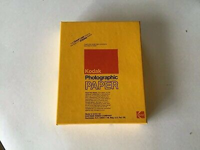 Lomo (1979) Kodak Polycontrast Paper 4x5 100 Sheets Single Weight F Cold Stored