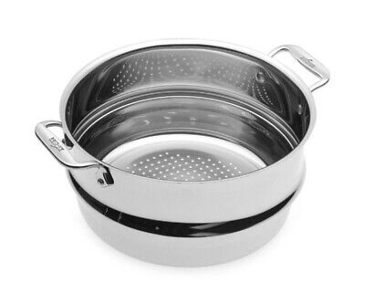 All-Clad Stainless Steel Dishwasher Safe 3-Qt All Purpose Steamer with Lid
