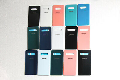OEM Back Glass Battery Cover Housing + Adhesive For Samsung Galaxy S10+ S10 S10E