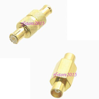 10pcs Adapter Connector MCX to MCX straight for wireless