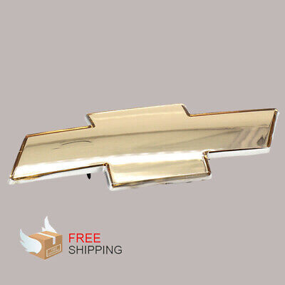 Fits To Chevy Silverado 1999-2002 Grille Emblem Front Grill Gold Badge Us Ship