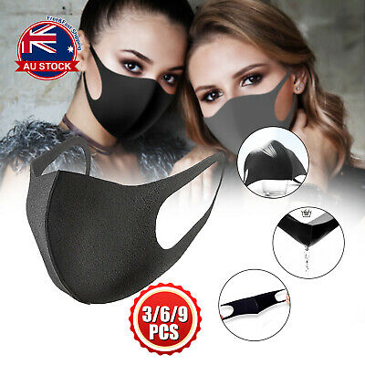 Washable Earloop Mask Cycling Anti Dust Mouth Face Mask Surgical Respirator O