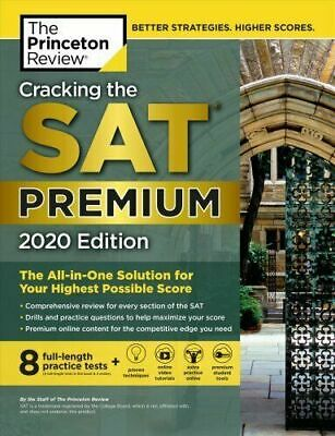CRACKING THE SAT Premium Edition, 2020 by The Princeton Review (0525568077)