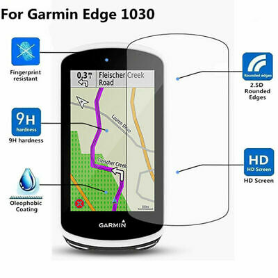 9H Hardness Ultra Clear Glass Screen Protective Film  For Garmin Edge 1030 Lot