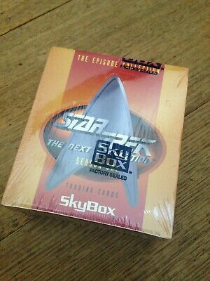 1994 SKY BOX STAR TREK TNG season 1 TRADING CARDS 36 pk BOX - FACTORY SEALED