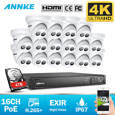 ANNKE SECURITY CAMERAS System Smart HD 1080P Lite 4+1 Channels DVR