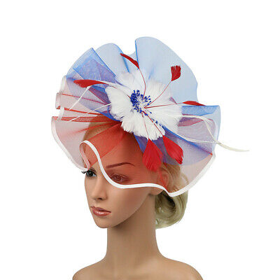 Ladies's Fascinator Hats Feather Headpiece Hats Party Vintage Hatinator Hats