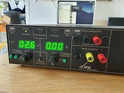 Alimentation constant current current power supply 100W lab JFA 20v 5a benchtop