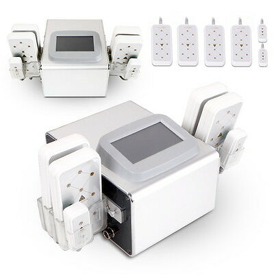 6Pads  Diode Lipo Laser Lipolysis Fat Slimming Machine Body Cellulite Remover us