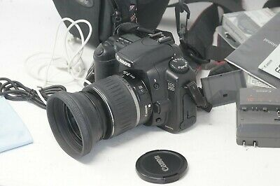 Canon 20D + 18-55mm EFS Lens + battery + Charger  + Bag
