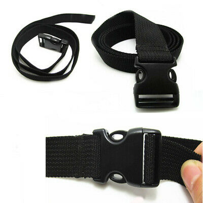 Black Luggage Strap Binding Belt Bag Cord Rope for Suitcase Package Travel Lot