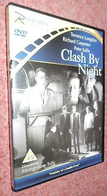 Clash By Night DVD (1963) Rare, Montgomery Tully, Peter Sallis, Terence Langdon