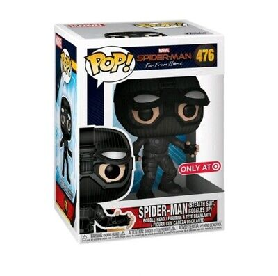 Funko Pop! Marvel Stealth Suit SpiderMan far from home Target Exclusive