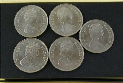 COLLECTION OF 11 Rare Queen Elizabeth II Coins Queen Mother Shillings Old  50p