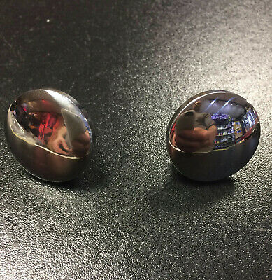 Head set mirror hole plugs stainless steel for Vespa PX