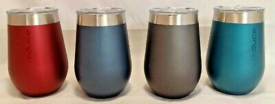 New Reduce Stemless Tumbler Set Insulated Stainless Steel Tumblers 355 ml
