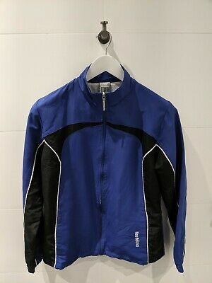 NEW BALANCE Purple/Black Full-Zip Track Jacket - Mens Size S