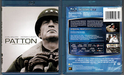 2-Disc PATTON George C Scott Karl Malden WWII WS SE OOP R1 DVD+Region A Blu-ray
