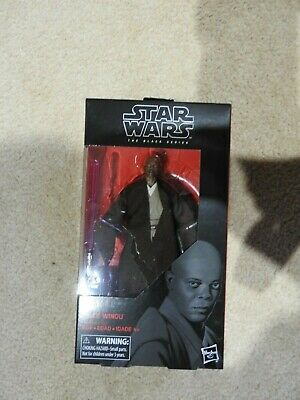 Star Wars - The Black Series - Mace Windu 6-Inch Action Figure