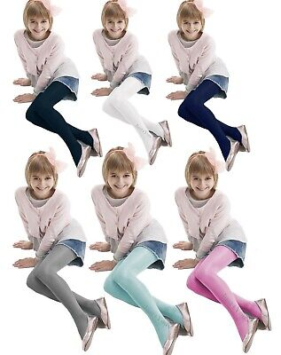 Diverse Junior Satin Gloss Girls Tights 3D High Shiny Opaque Tights New