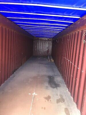 40' OT Open Top Containers