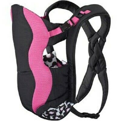 Evenflo - Breathable Soft Infant/Baby Carrier - Pink/Black/White - Free Shipping
