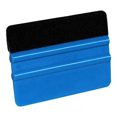 10*7.3cm Squeegee Scraper Blue 1pc Tool Plastic Edge Car Window Useful