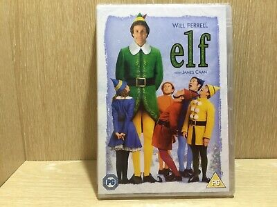 Elf DVD New & Sealed Will Ferrell Christmas Comedy